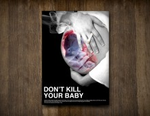 Don't kill your baby